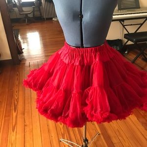 Red Dance Ballet Tutu